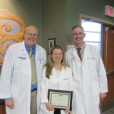 2014 Advance Practice Nurse Excellence Award – our very own Laura Mesenbrink