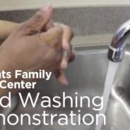 Hand washing video