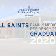 All Saints Family Residency Program Graduation 2020