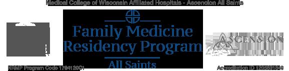 All Saints Family Medicine Residency Program